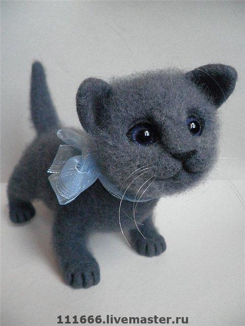 Британские котята игрушки своими руками 51