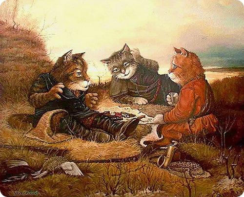 кот баюн кошек